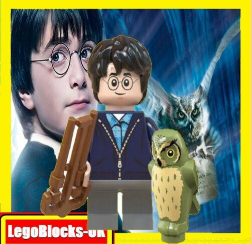 con Dibujo de Búho para Niños Navidad Stocking Relleno Custom Minifiguras Lego Harry Potter