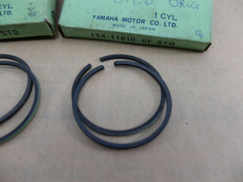 Yamaha YL1 YL1E Piston Rings STD 1966 1967 may fit YL3 Genuine 134-11610-01 NOS