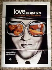 LOVE IN ACTION / EXPOSE ME LOVELY * A1-Filmposter - German 1-Sheet 1978 EROTIK
