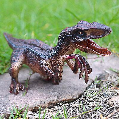 Jurassique bleu Raptor Dinosaure Velociraptor Jouet modèle éducatif cadeau d/'anniversaire
