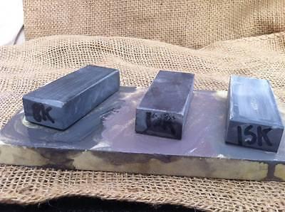 SET 3 NATURAL SLURRY STONES (NAGURA) 8k 12k 15k grit RAZOR KNIFE HONE sharpening
