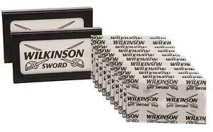 Wilkinson-Sword-Doble-Filo-Cuchillas-de-afeitar-cuchillas-de-afeitar-para-hombre-100-Original
