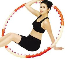 Health Hula Hoop®- Dynamic Exercise Massage Hula Hoop 1.2kg 2.6lb step1