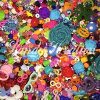 Grab Bag Beads Charms 8oz For Kandi Craft Jewelry Bracelet Party Favor Mixed Lot