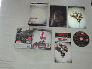 jeu ps3 sony playstation 3 THE EVIL WITHIN LIMITED EDITION collector