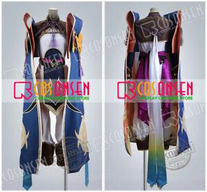 Fate//Grand Order FGO Artoria Pendragon Lancer Costume Cosplay Wig Cosonsen