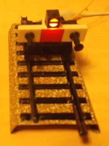 1 X Märklin h0 7191 M-Binario Prell cavalletto con illuminazione NUOVA VERSIONE
