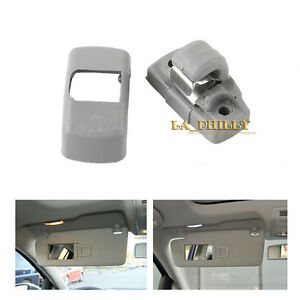 Image Is Loading Grey Sun Visor Clip 3b0857561b For Vw Golf