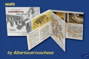 2005-LUSSEMBURGO-9-monete-EURO-fdc-Luxembourg-Luxemburg