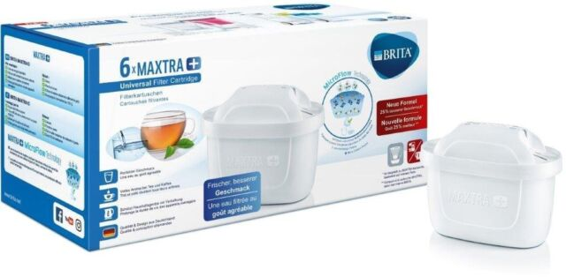 Brita Maxtra+ Plus Filterkartuschen 6 Stück Wasserfilter Kartuschen