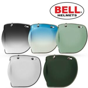 Harley-Davidson Bell 3//4 Bell 6110-008 * Casques Jets 3-Snap Visière Bubble inclinant