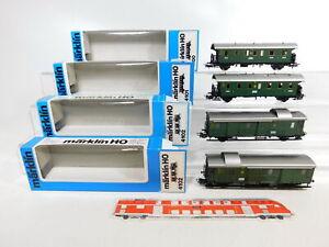 CF603-1-4x-Maerklin-H0-AC-Personenwagen-etc-DRG-4100-4101-4102-TOP-OVP