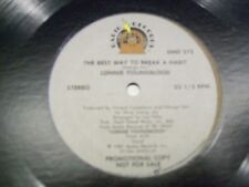 """Lonnie Youngblood-The Best Way to Break A Habit-12""""Single-Radio Records-DMD272"""
