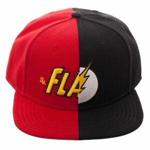 ae0dba41b87 OFFICIAL DC COMICS - THE FLASH SYMBOL AND TEXT LOGO RED BLACK ...