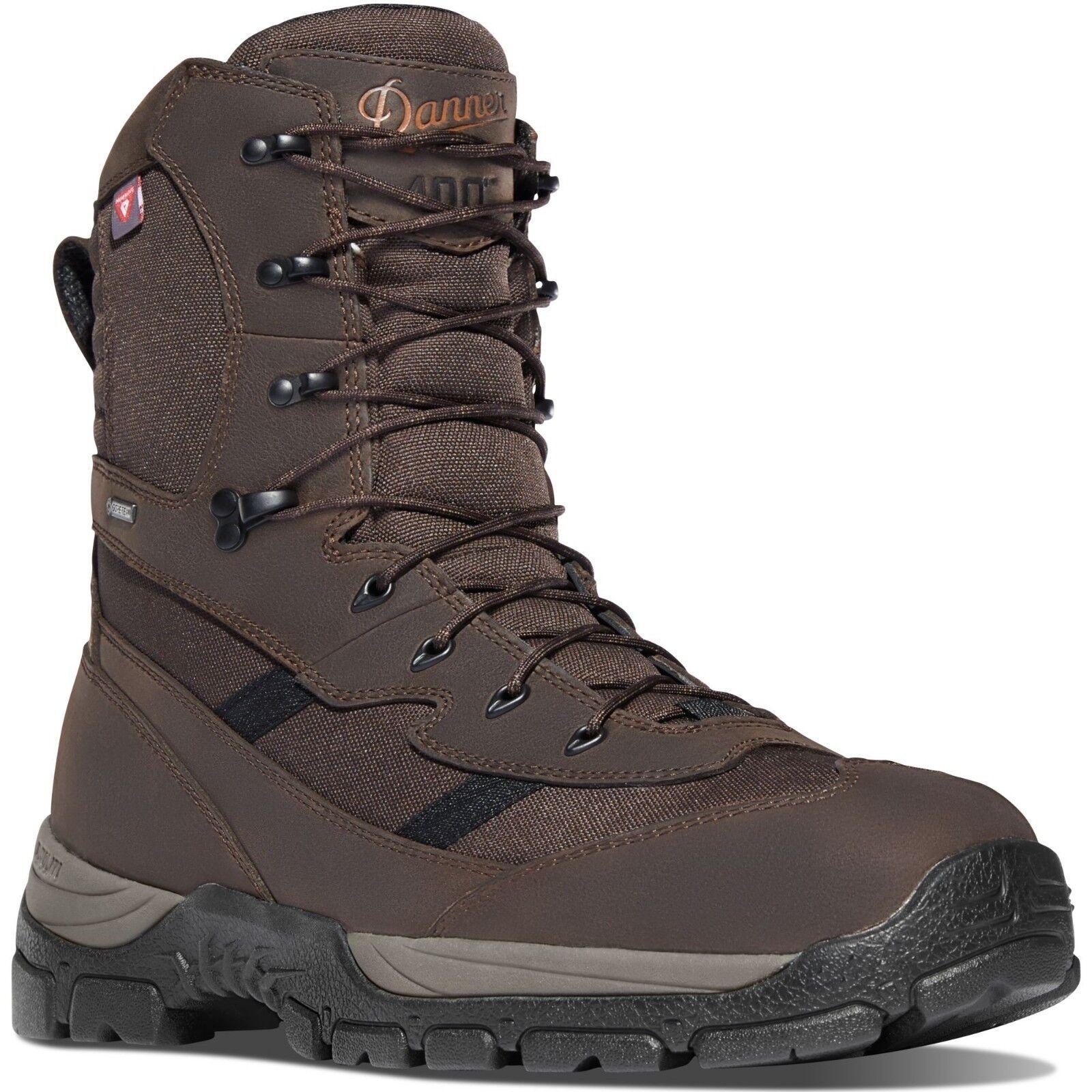Danner 46722 Alsea 8  marrón de hombre de 400G GTX botas de caza impermeable aislado