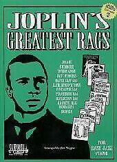 JOPLIN GREATEST RAGS Easy Jazz Piano Book /& CD