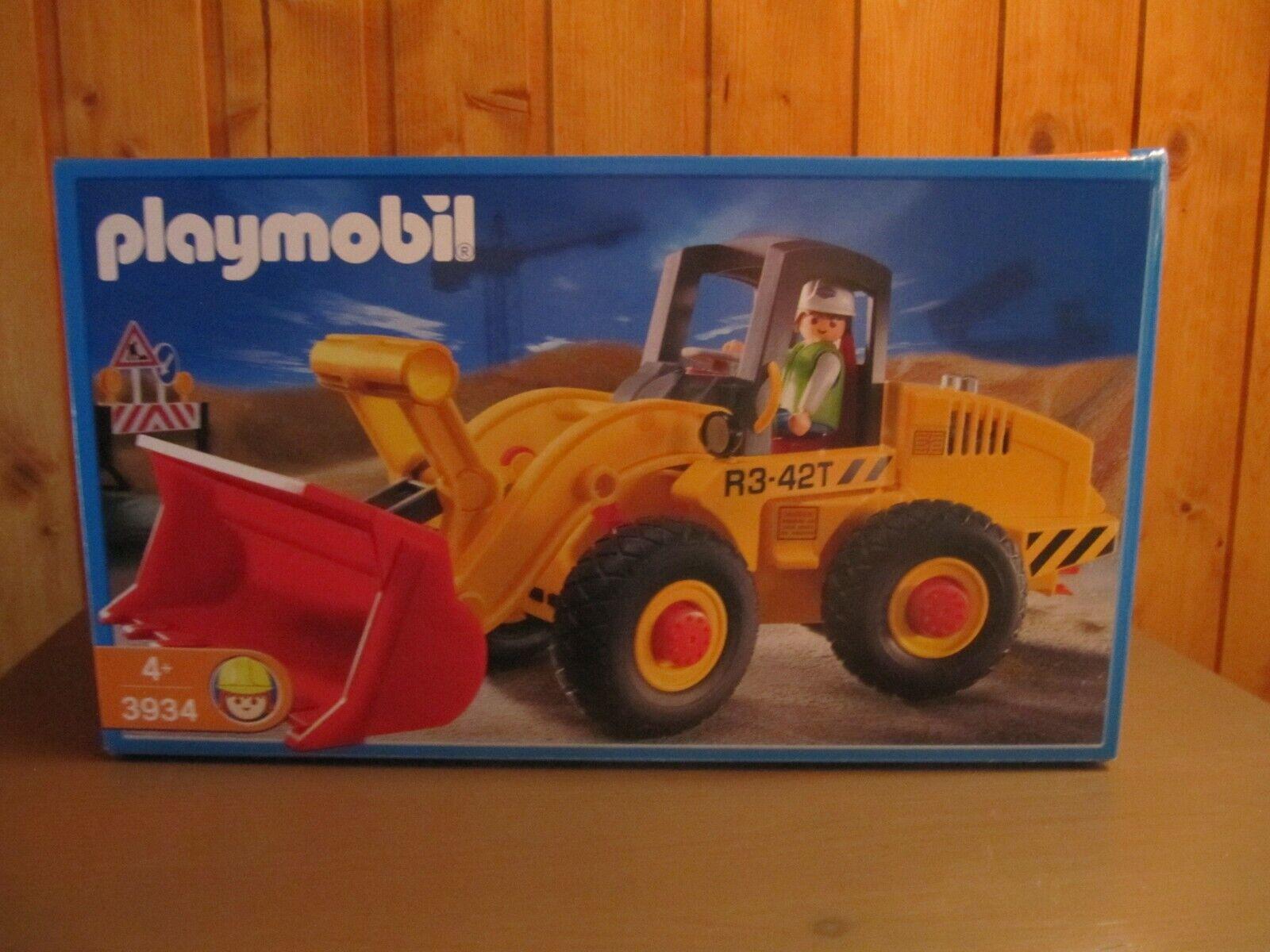 NEU  Playmobil 3934   Radlader   aus 2000 in ungeöffneter OVP  | Mangelware