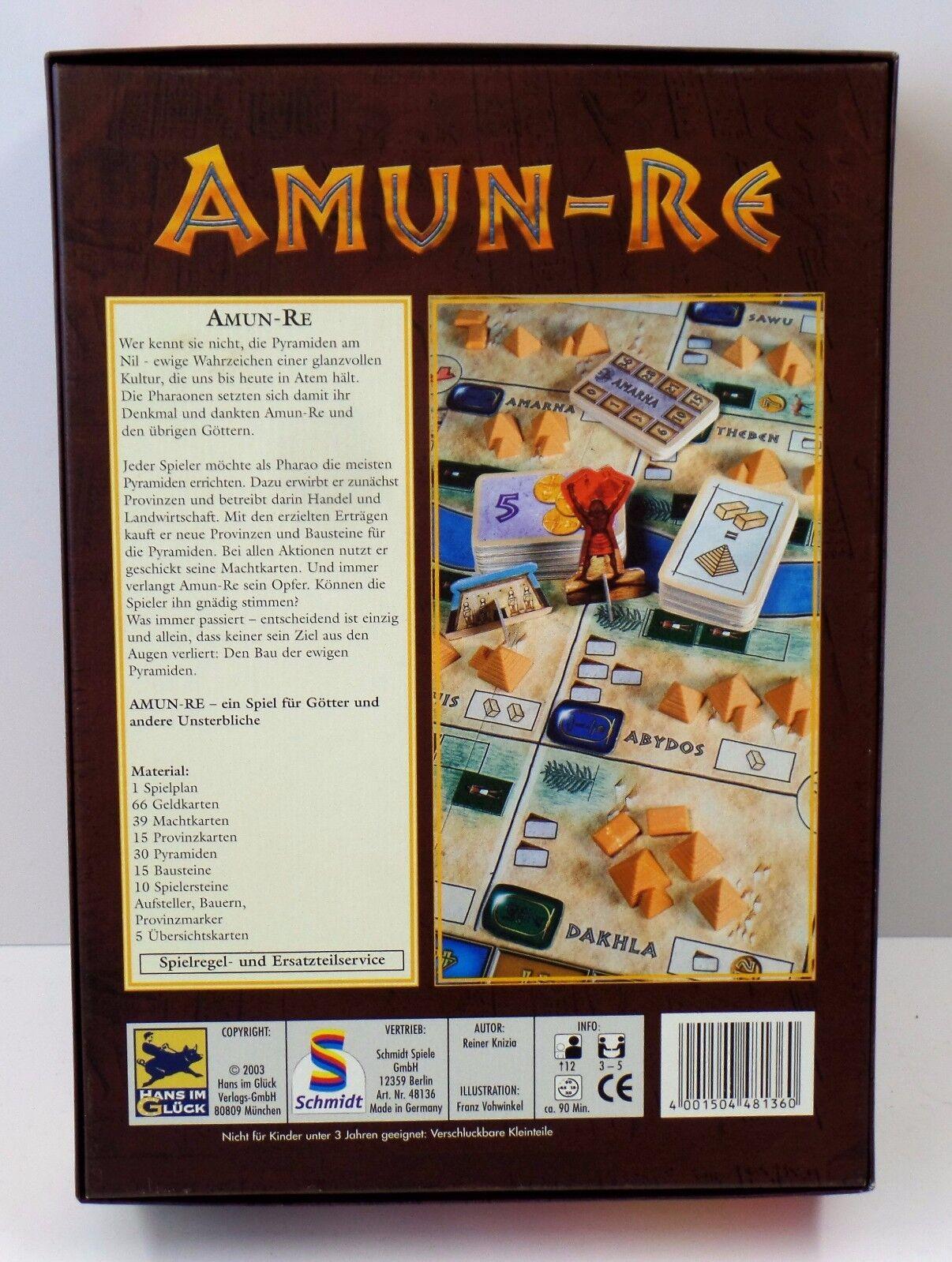 Amun-Re Brettspiel Hans im im im Glück Neuwertig c47849