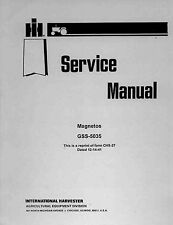 IH FARMALL/CUB Magneto SERVICE MANUAL GSS-5035 - coil binding