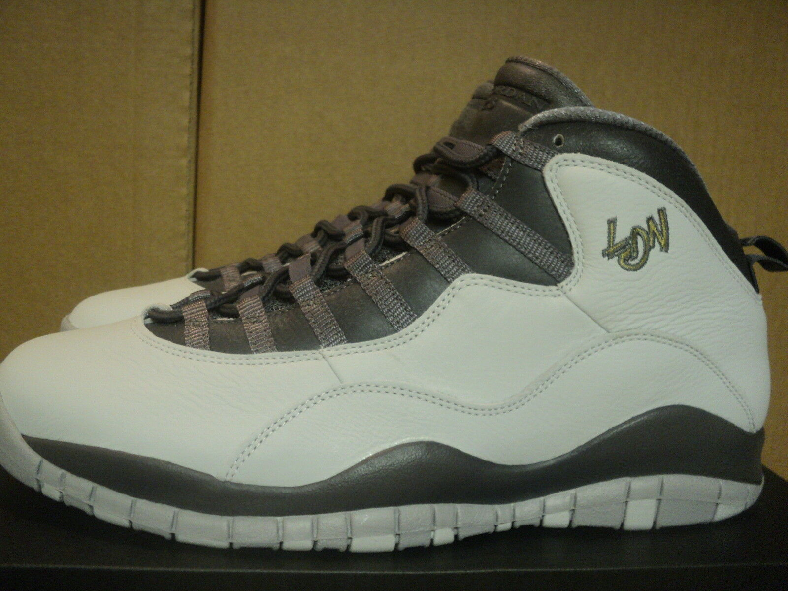 NIKE AIR JORDAN 10 RETRO LONDON SIZES = US 12.5 BRAND NEW IN BOX
