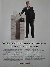 12/1989 PUB HONEYWELL MILITARIZED OPTICAL DISK STORAGE SYSTEM ORIGINAL AD