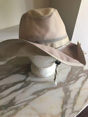 Goldcoast Khaki Sun Hat Safari Cap Vented