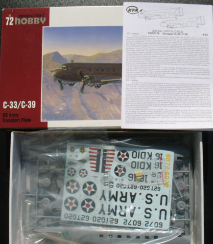 Douglas C-33 //C-39 Kit US Army Transport Plane Special Hobby 72176 1:72