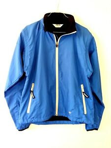 Pearl-Izumi-Womens-Jacket-Sz-L-Wind-Breaker-Blue-Vented-Cycling-Convertible-Vest