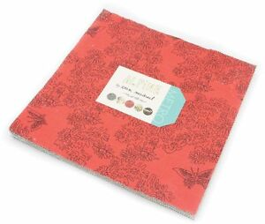 Alpine-Moda-Layer-Cake-42-100-Cotton-10-034-Precut-Quilt-Squares-by-Erin-Michael