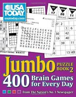 Usa Today Jumbo Puzzle Book 2: 400 Brain Games For Every Day By Usa Today, (pape on sale