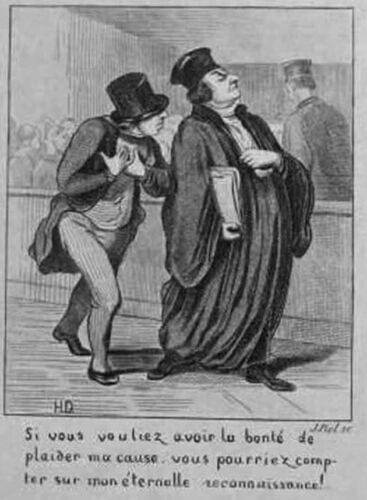 Ask the Daumier specialist FAKE OR NOT FAKE?? DAUMIER