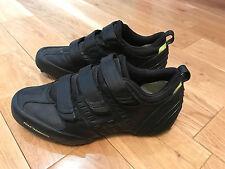 RARE Y3 ADIDAS Yohji Yamamoto Originale Cinturino Scarpe da ginnastica scarpe nere misura 8