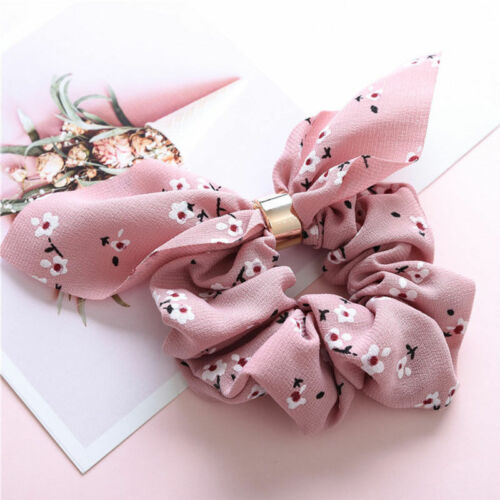 Fashion Femmes Réglable Bow Knot Hair Rope Ring Tie Ponytail Holder Accessoires