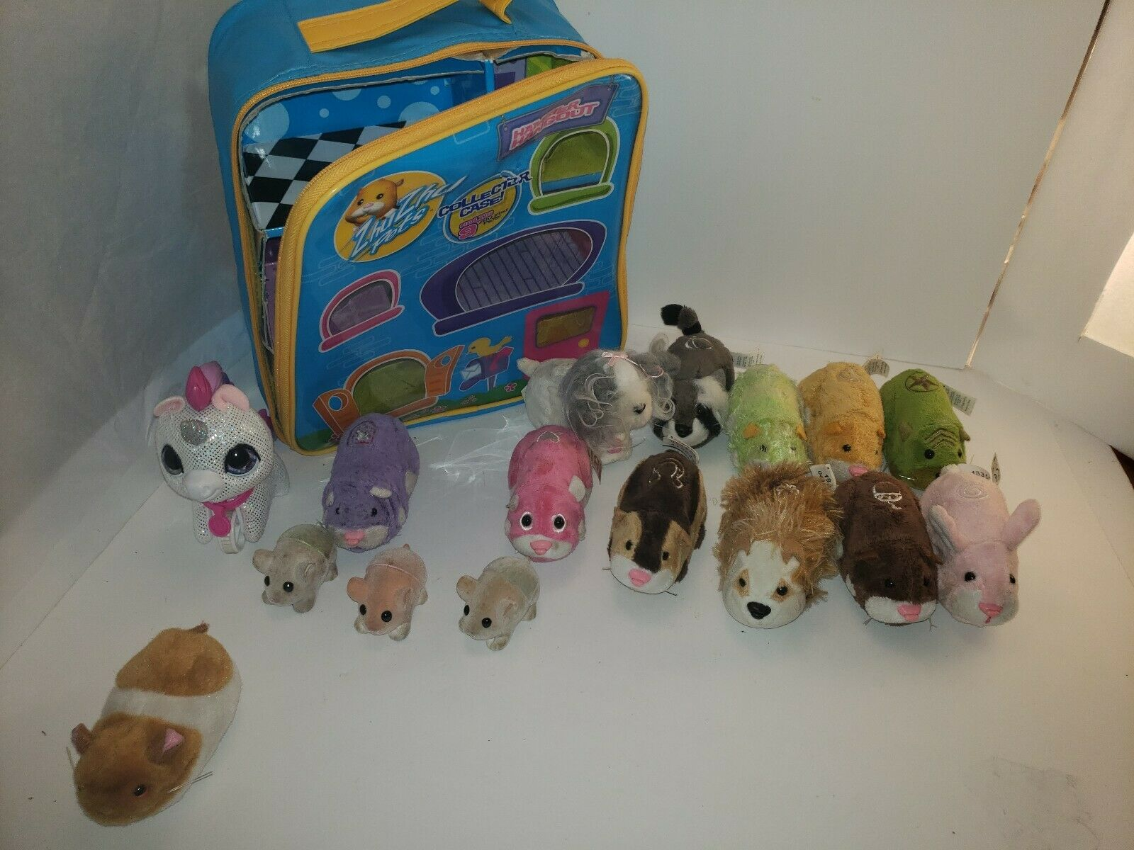 Huge Zhu Zhu Pets Masse Hamsters-11 Kleinkinder-3 and bag 2 unknown tested