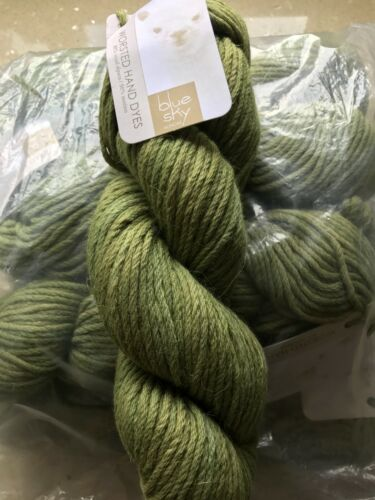 """/""""Blue Sky Alpacas Worsted Hand Dyed Colour 2002 Lot 0459 100g Skeins/"""""""