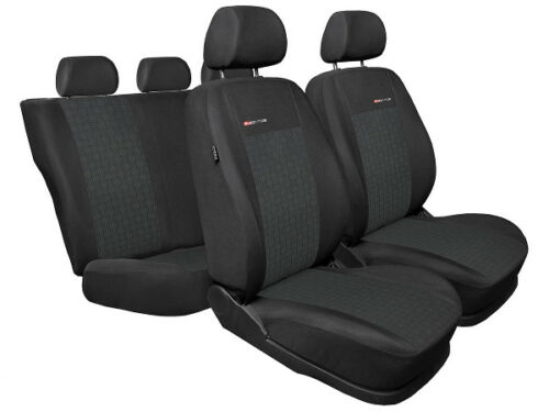 FULL SET grey1 1998-2010 FORD FOCUS TAILORED SEAT COVERS   Mk1 Mk2