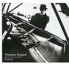 Thomas Koppel ‎– Improvisationer For Klaver - CD Album - Digipack