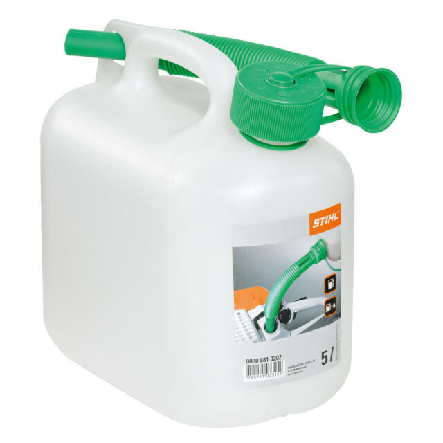 Stihl Genuine 0000 881 0232 5L Fuel Can Transparent