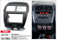 CARAV-11-103-2Din-Marco-Adaptador-Kit-de-Radio-PEUGEOT-4008-CITROEN-C4-Aircross