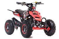 Funbikes 49cc Petrol Kids Big Wheel Mini Quad Bike 2 Stroke Midi 6 Wheels