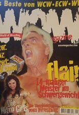 WOW World of Wrestling No 1 WWF WWE WCW Magazin