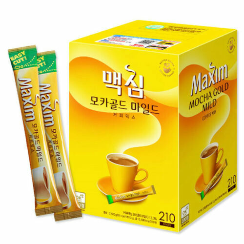 Korea Instant Maxim Coffee Mix Mocha Gold Mild Original 20 or 40 Sticks for  sale online | eBay