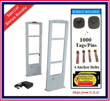 1000 Pkg Eas Anti Theft Security System Checkpoint Compatible 1000 Sensor Tags