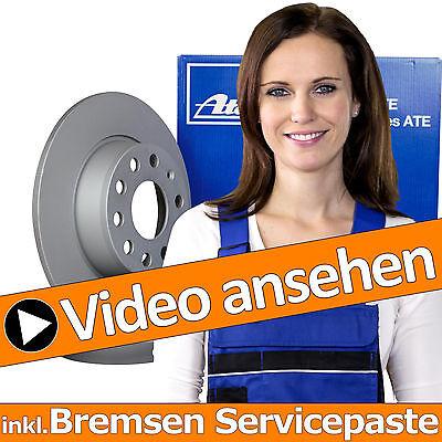 BREMSBELÄGE HINTEN VW PASSAT 3B 3BG BJ 96-05 BREMSSCHEIBEN VOLL Ø245