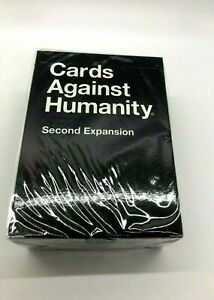 New-amp-Autentico-Cards-Against-Humanity-segunda-Expansion-Pack-Sellado