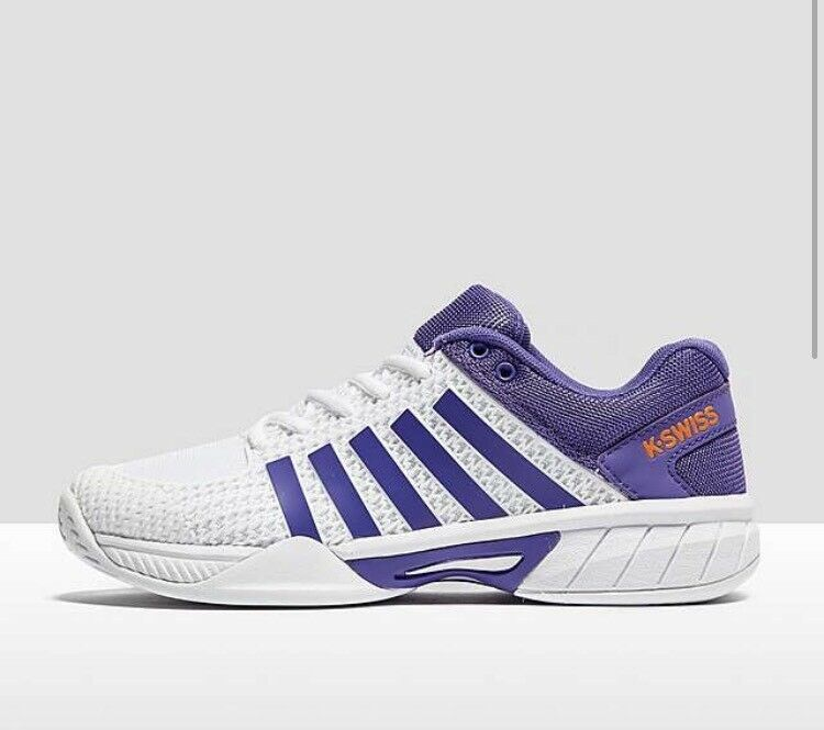 K-Swiss Womens Express Light Tennis shoes -  2017 - White Purple with BOX