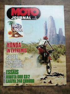 Moto Journal Nº 540 / 21 Janvier 1982