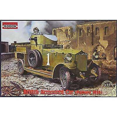 RODEN 803 Pattern 1914 WWI British Armored Car 1/35 Scale Plastic Model Kit  for sale online | eBay