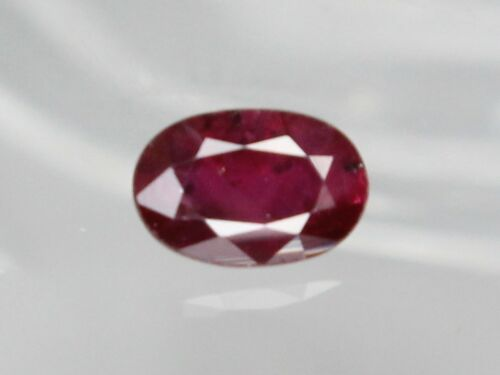 Below 1ct Natural Ruby Oval Cut Loose Gemstone 1 piece Many Sizes Clarity SI-I