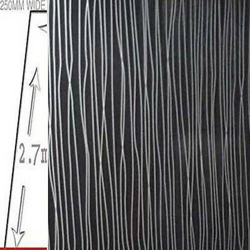 10 x black string  5mm x 250mm Wet Wall Panels Ceiling Panels